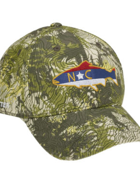 58d0d9bc Bass Silhouette Patch Trucker Hat Realtree Fishing Camo/Navy - AG ...