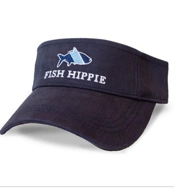Fish-Hippie-Navy-Sport-Visor