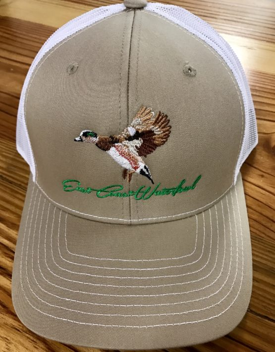 c876bba46 East Coast Waterfowl Wigeon Duck Trucker Hat Khaki/White