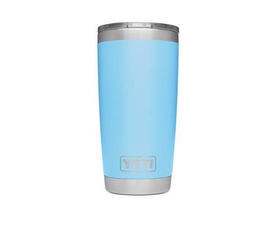 Yeti Rambler 20 oz Sky Blue Tumbler with MagSlider Lid